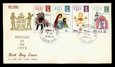 1973 FIJI FDC FESTIVALS