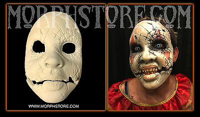 Halloween Foam latex Doll Face (Blair) Brows Mask lot.  ()