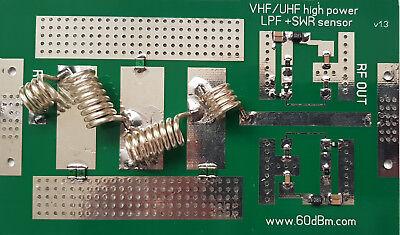 1kw Lpf Bajo Paso Filtro, SWR Sensor, 50-54 MHZ 6m For Ldmos...