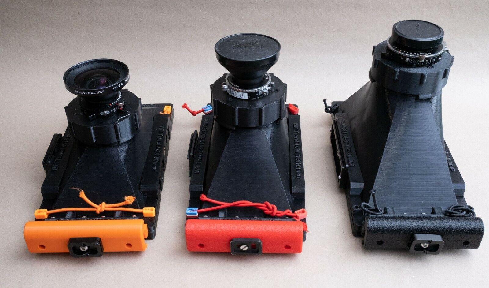 как выглядит 3d printed - WillTravel 4x10 camera for your focal length фото