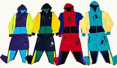 Nike Air Tech Sweatsuit Men's Swoosh Top & Bottom Set Full ZIp Hoodie