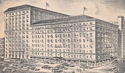 Pittsburgh pa ~ Hotel Fort PITT-800 Habitaciones para Artistas Tirado Tarjeta segunda mano  Embacar hacia Spain