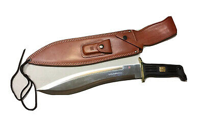 "Vintage Mint Al Mar FBI-Pathfinder Dagger Knife Seki Japan Leather Sheath 19""L"