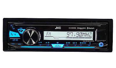 JVC KD-X33MBS 1Din Marine Digital Media Receiver w/Bluetooth+USB+pandora Control