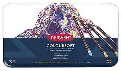 Derwent Farbig Bleistifte Zeichnung Kunst Colorsoft 72-pack 0701029 F S W