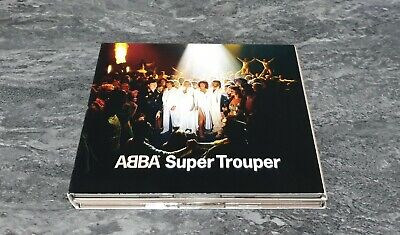 ABBA Super Trouper Deluxe Edition CD + DVD 2011 GREAT CONDITION RARE OOP