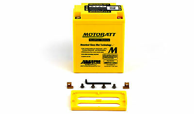 Motobatt Battery For Yamaha XS 500 A 1974