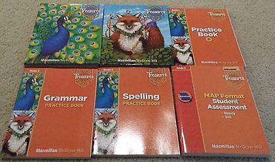 Treasures A Reading Language Arts Program Grade 3 Homeschool Curriculum Practice