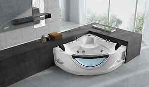 corner tub. Empava 59  2 Person Corner SPA Tub Freestanding Jacuzzi Bathtub EMPV JT319 Bathtubs EBay