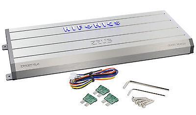 New Hifonics Zeus ZRX2016.4 2000 Watt RMS 4 Channel Class AB Car Amplifer Amp