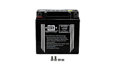 US Powersports Battery For Daelim VL 125 Daystar Gussrad 2002