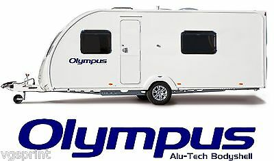 2 X BAILEY OLYMPUS ALU-TECH BODYSHELL DECALS STICKERS CHOICE OF COLOURS #003