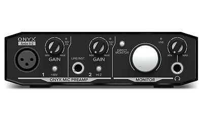 Mackie Onyx Artist 1.2 2x2 USB Audio Recording Studio Interface Mackie Onyx Recording