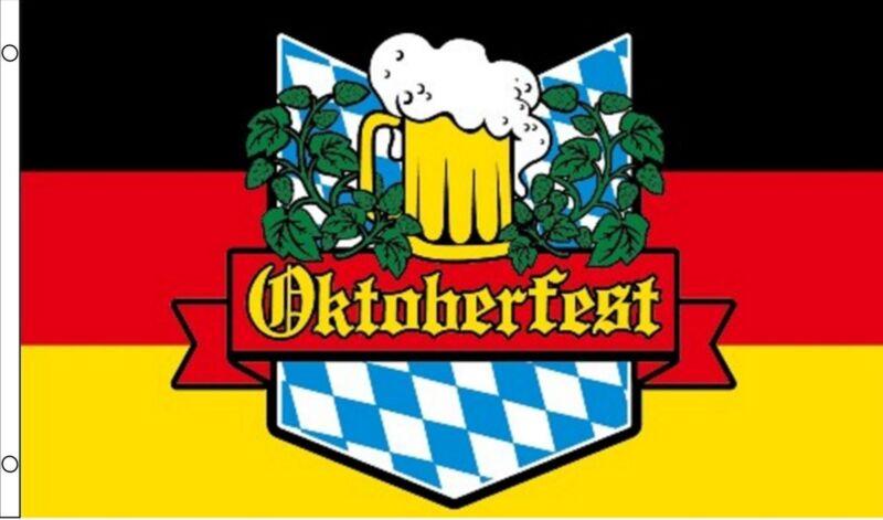 OKTOBERFEST Bavaria Munich beer festival 5x3 feet FLAG 150cm x 90cm octoberfest
