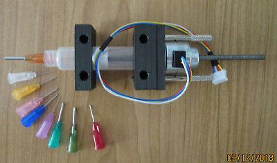 Motorized Solder Paste Glue Paint Dispensing Syringe Extruder 5cc