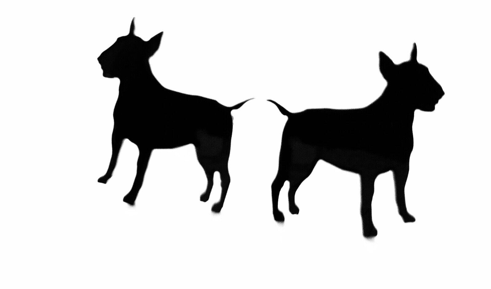 Anglais bull terrier chien boutons manchette hommes nouveauté chemise en noir