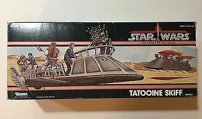 Vintage 1984 Tatooine Skiff POTF Star Wars w/ Box, Sealed New Great condition!