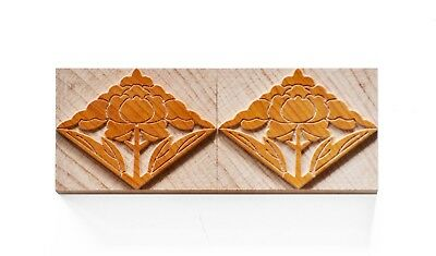 Letterpress Japanese Ornaments No. 10 Wood Type 10 Line 422 Mm - 2 Pieces