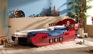 Piratenbett Kinderbett Schiffbett Kinderzimmer Schlafen Autobett Bett Seeräuber