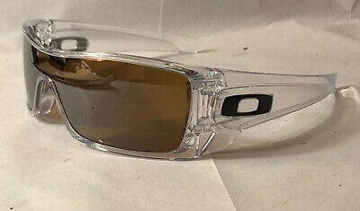Oakley Men Sunglasses:  Batwolf - Clear - Bronze Polarized