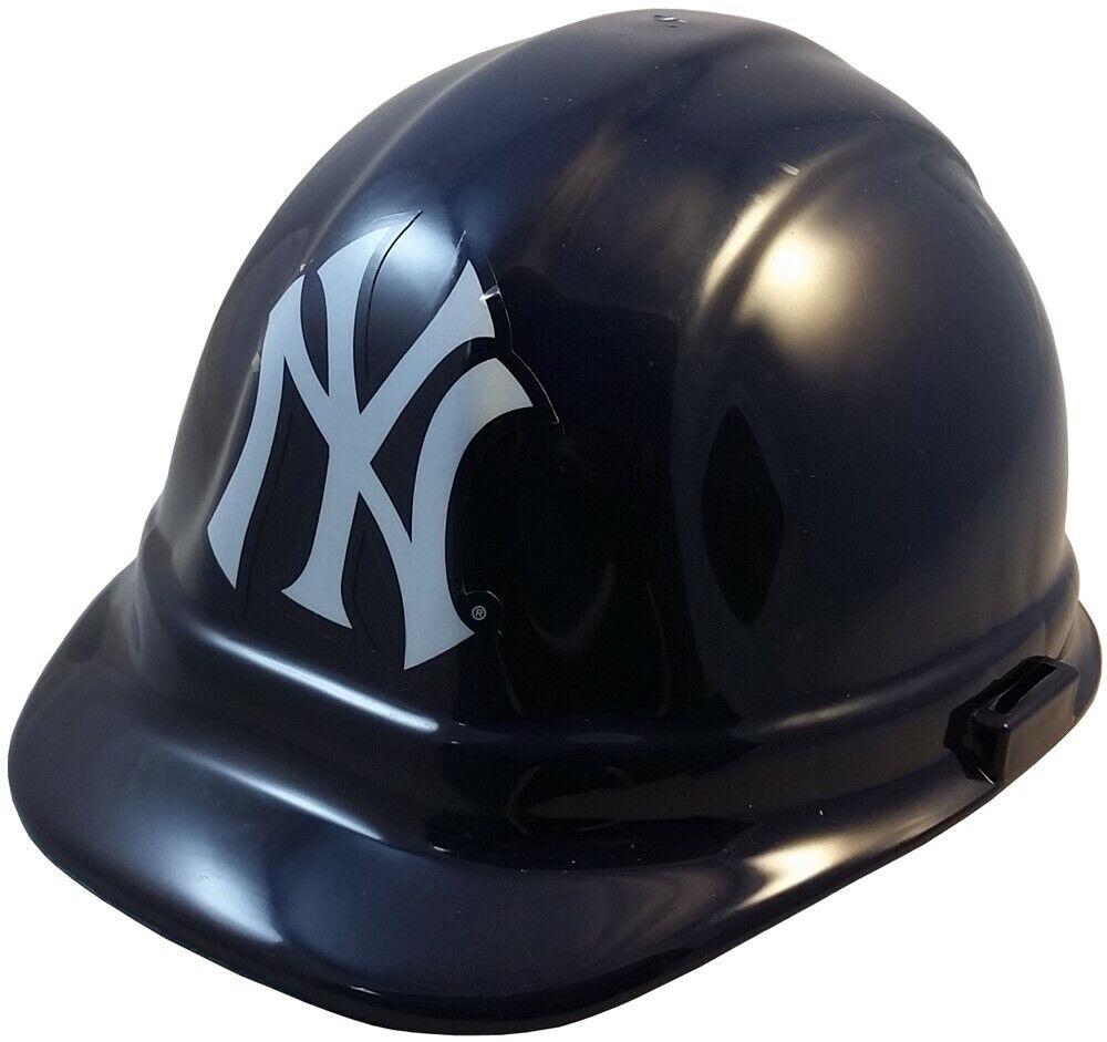 New York Yankees MLB Hard Hat with Ratchet Suspension