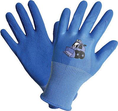 Kinder Arbeitshandschuhe Gartenhandschuhe Kinder Arbeits Garten Handschuhe blau