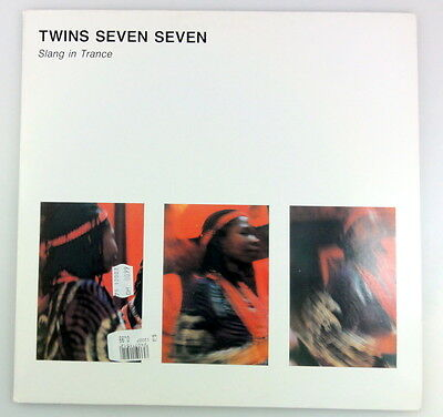 LP Twins Seven Seven ‎– Slang In Trance - CDP 85007 - Tribal, Afrobeat, Trance