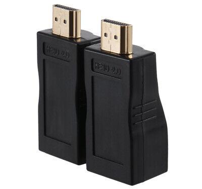 1 Pair 4K HDMI Extender Mini RJ45 Ports to 30m HDMI Extension Over CAT 5e 6 UTP