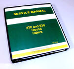 SERVICE MANUAL FOR JOHN DEERE 430 530 ROUND BALER picture