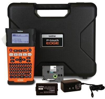 New Brother Pt-e300 Label Maker And Shrink Tube Printer - Includes Case Etc