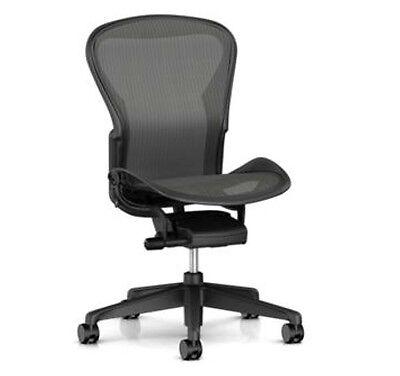 Herman Miller Aeron Basic Ergonomic Home Office Desk Task Chair Size C No Arms