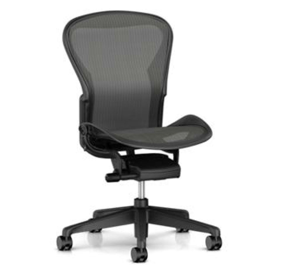 Herman Miller Aeron Basic Ergonomic Home Office Desk Task Ch