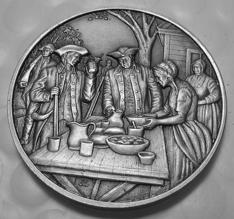 DAR Medal - MARY ALDIS DRAPER. Great Women of the American Revolution