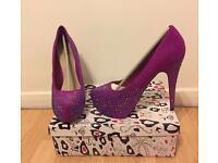 Size 7 - Purple Heels