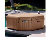 Intex Purespa Hot Tub Octagonal Spa, Still In The Box. Local Delivery Possible. Bargain!!!!