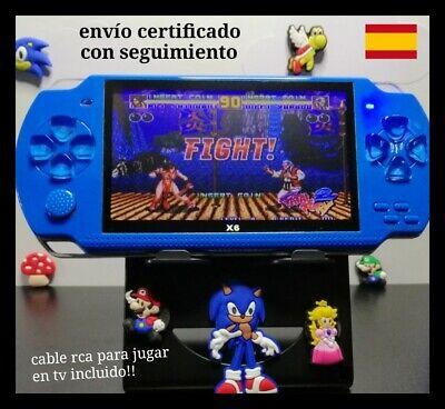 Consola de videojuegos portátil retro pantalla 4,3