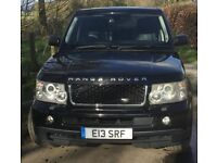 RANGE ROVER SPORT 4.2 SUPERCHARGED LOW MILES 4x4 4WD MOT SEP19 AWESOME CAR THE ULIMATE RRS SAVE ££'s