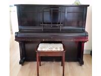 Piano and Stool Free to Collector