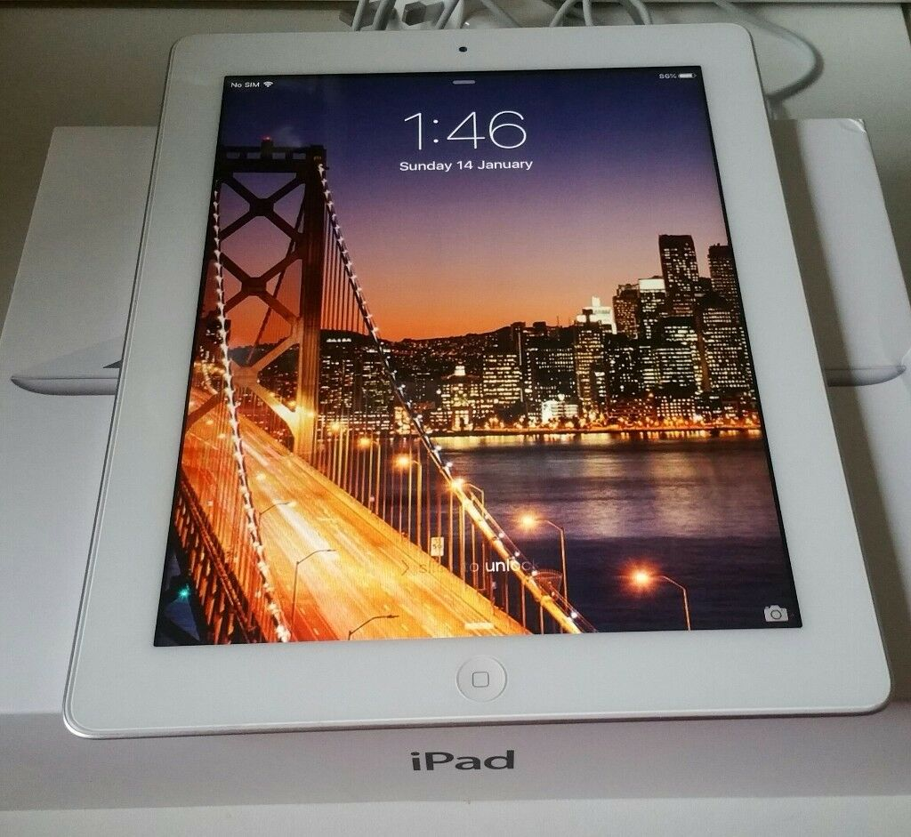 Apple iPad 2 16gb Wifi with Cellular option 9.7'' screen.