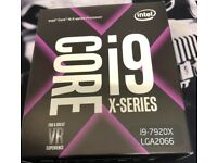 Brand new un- opend Box i9 7920 X 12Core