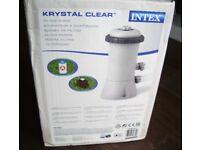 530 Gallon Filter pump (AC/230v) Krystal Clear Model 604G for Intex Pools