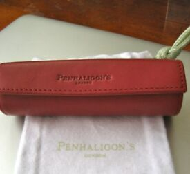 Penhaligons Leather Lipstick Case - NEW with Original Bag - Quality Lovely Xmas Gift