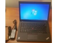 Lenovo Thinkpad UltraBook T450 laptop Intel Core i5 5th gen processor 4gb or 8gb ram memory