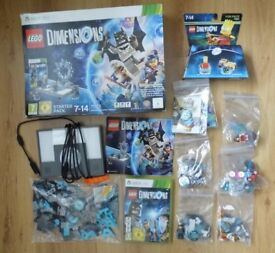 Lego Dimensions XBOX 360 Starter Pack + Level pack & Fun packs