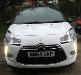 £6800 O.N.O Citroen DS3 1.2 PureTech DSign Plus 3dr - Full Service History, Owned Since New