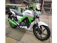 KSR Moto Worx 125cc motorbike