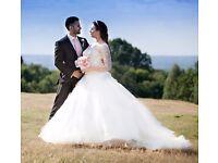 Ronald Joyce wedding dress gown 2016 June off white 12 / 14