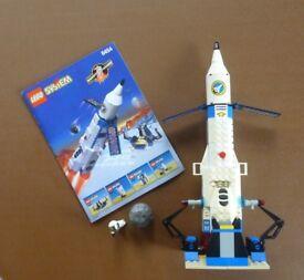 Lego 6454 Countdown Corner Space Rocket *COMPLETE*