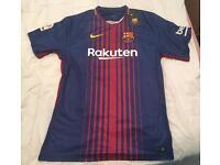 BNWT XL Barcelona 17-18 Shirt (MESSI 10)