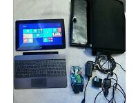 Asus Laptop plus tablet 2in1 64 Gb windows tablet with Case etc*** Bargain